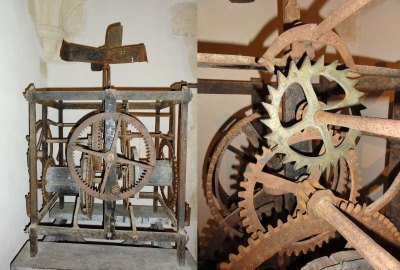 Clock machine 16th century - Convent of Christ in Tomar, Portugal